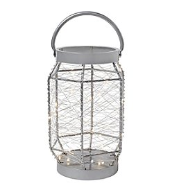 Order Home Collection Wire Lantern With LED Micro String Lights