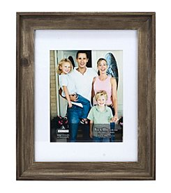 Malden® Wide Grey Scoop Picture Frame