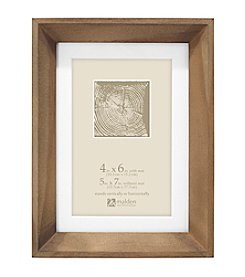 Malden® Matted Beveled Picture Frame