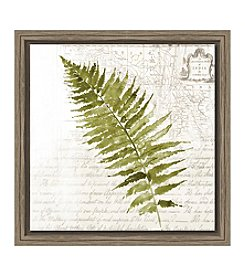Fern Canvas Wall Art