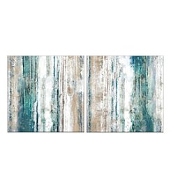 Vibrant Set Of Two Canvas Wall Art