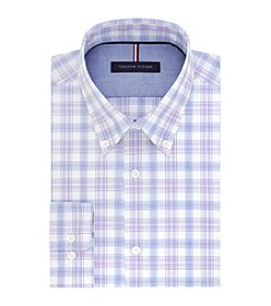 Tommy Hilfiger® Men's Slim Fit Plaid Dress Shirt