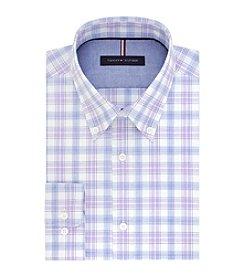 Tommy Hilfiger® Men's Slim Fit Plaid Dress Shirt