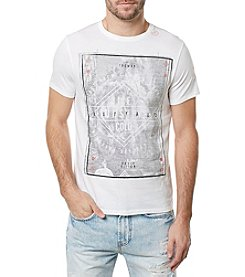 Buffalo by David Bitton Men's Tabed Short Sleeve Crew Neck Tee