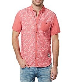 Buffalo by David Bitton Men's Sarmac Short Sleeve Woven Shirt