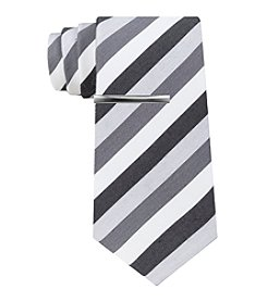 John Bartlett Statements Step Stripe Skinny Tie