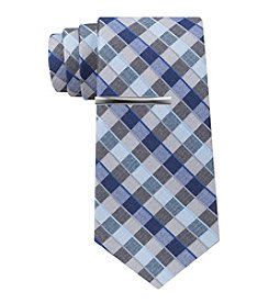 John Bartlett Statements Heather Grid Skinny Tie