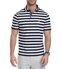 Nautica® Men's Classic Fit Striped Polo Shirt