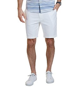 Nautica® Men's Classic Fit Cotton Linen Blend Shorts