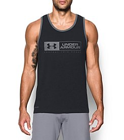 Under Armour® Men's Sportstyle Bar Lockup Tank