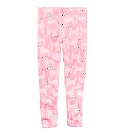 Carter's® Baby Girls' Poodle Print Leggings