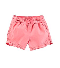 Carter's® Baby Girls' Ruffled Shorts