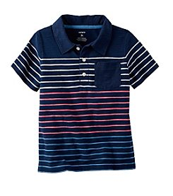 Carter's® Baby Boys' Striped Polo T-Shirt