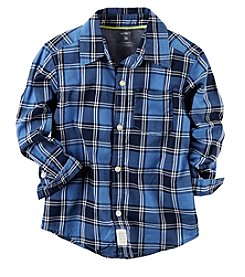 Carter's® Baby Boys' Plaid Woven Shirt