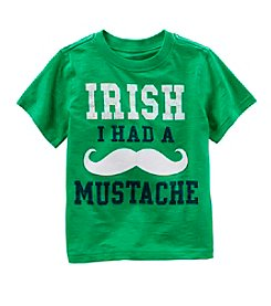 Carter's® Baby Boys' Irish Mustache T-Shirt