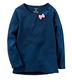 Carter's® Baby Girls' Bow Crewneck Top