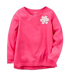 Carter's® Baby Girls' Flower Embellished Top