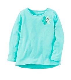 Carter's® Baby Girls' 12-24 Month Flower Embellished Top