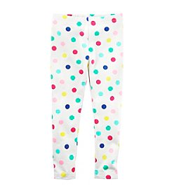 Carter's® Baby Girls' Colorful Dots Leggings