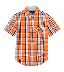 Chaps® Boys' 8-20 Plaid Shirt