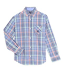 Chaps® Boys' 4-20 Plaid Shirt