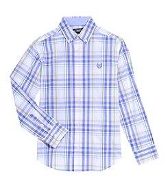 Chaps® Boys' 4-20 Plaid Shirt