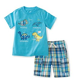 Kids Headquarters® Boys' 2T-7 2-Piece Dino Shirt Set