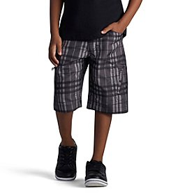 Lee® Boys' 4-7 Plaid Grafton Shorts