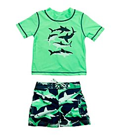 Carter's ® Boys' 2T-7 2-Piece Shark Swim Set