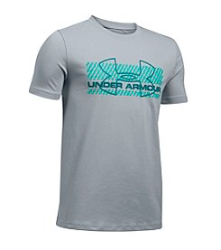Under Armour® Boys' 8-20 Zagzig Rashguard Shirt