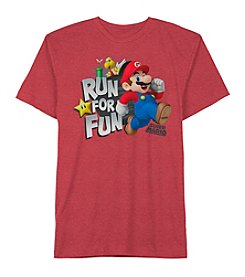 Super Mario Bros.® Boys' 4-7 Mario Run For Fun Tee