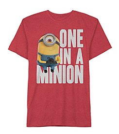 Minions Movie Boys' 4-7 Mommys Minion Tee