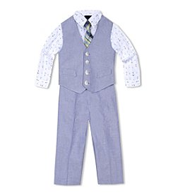 Nautica® Boys' 2T-7 3-Piece Vest Set