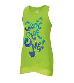adidas® Girls' 2T-6X Can't Stop Me Tank