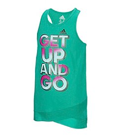 adidas® Girls' 2T-6X Get Up And Go Tank