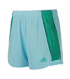 adidas® Girls' 2T-6X Block Mesh Shorts