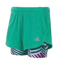 adidas® Girls' 2T-6X Marathon Mesh Shorts
