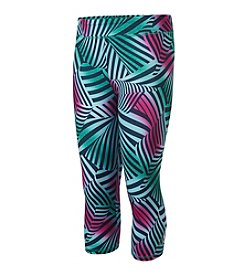 adidas® Girls' 2T-6X Wave Capri Leggings
