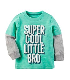 Carter's® Baby Boys Super Cool Bro Tee