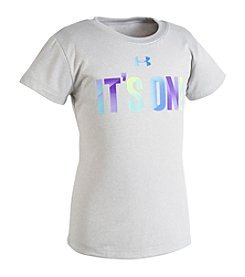 Under Armour® Girls' 2T-6X It's On Tee