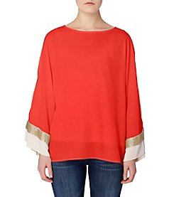 Joan Vass® Dolman Sleeve Blouse
