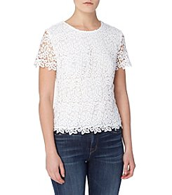 Joan Vass® Crochet Top