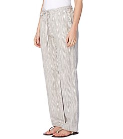 Joan Vass® Drawstring Pants