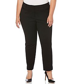 Rafaella® Plus Size Solid Pants