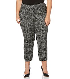 Rafaella® Plus Size Jacquard Pants