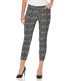 Rafaella® Petites' Jacquard Pants