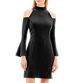 Nicole Miller New York™ Cold-Shoulder Cocktail Dress