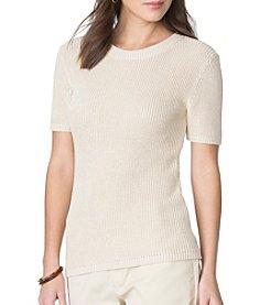 Chaps® Rib Textured Sweater