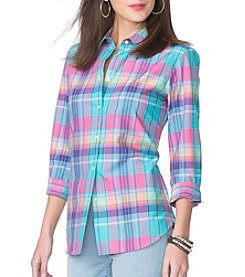 Chaps® Plaid Broadcloth Shirt