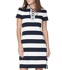 Chaps® Stripe Casual Dress
